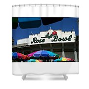 Rose Bowl Shower Curtain