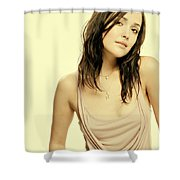 Rose Byrne Shower Curtain