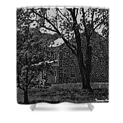 Rose Farm House-gettysburg Shower Curtain