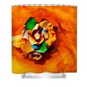 Rose In A Dream Shower Curtain