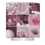 Rose Mosaic Shower Curtain