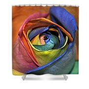 Rose Of Equality Shower Curtain