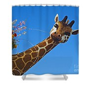 Rose Parade  Shower Curtain