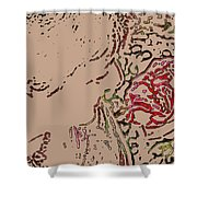 Rose Smell Shower Curtain