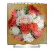 Roses Antiqua Shower Curtain