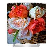 Roses Florentine Shower Curtain