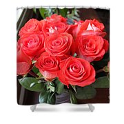Roses For Mother Shower Curtain