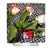 Roses From Rosa... Shower Curtain