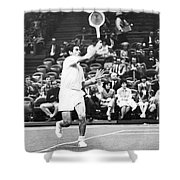 Rosewall Playing Tennis Shower Curtain