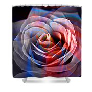 Rosica 2 Shower Curtain