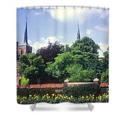 Roskilde Cathedral Shower Curtain