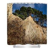 Ross Creek Cliffs Shower Curtain