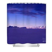 Ross-iceshelf-g.punt-1 Shower Curtain
