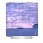 Ross-iceshelf-g.punt-2 Shower Curtain