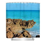 Ross Witham Beach 1 Shower Curtain