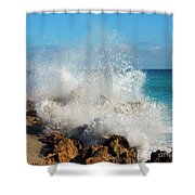 Ross Witham Beach 2 Shower Curtain