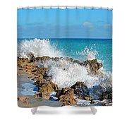 Ross Witham Beach 3 Shower Curtain