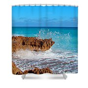 Ross Witham Beach 6 Shower Curtain