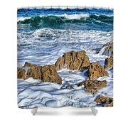 Ross Witham Beach Stuart Florida Shower Curtain