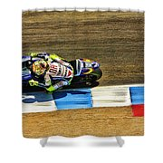 Rossi From Above Shower Curtain
