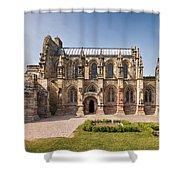 Rosslyn Chapel 01 Shower Curtain by Antony McAulay