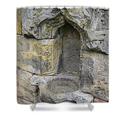Rosslyn Chapel Basin Shower Curtain