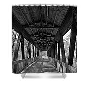 Roswell Bridge 1 Shower Curtain