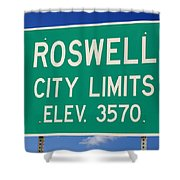 Roswell New Mexico Shower Curtain
