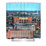 Roswell Park  Shower Curtain