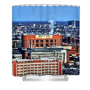 Roswell Park Winter 2013 Shower Curtain