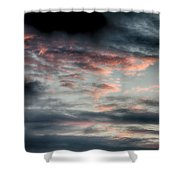 Rosy Clouds Shower Curtain