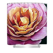 Rosy Dew Shower Curtain