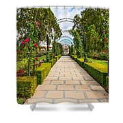 Rosy Path Shower Curtain