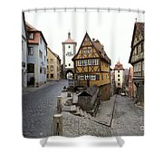 Rothenberg, Germany Shower Curtain
