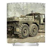 Rotinoff Tractor  Shower Curtain