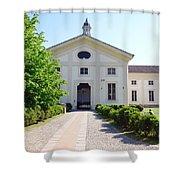 Rotonda Della Besana Building Shower Curtain