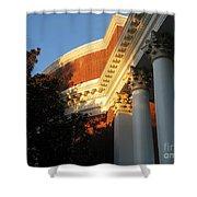 Rotunda At The University Of Virginia Shower Curtain