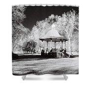 Rotunda Benalla Botanical Gardens Shower Curtain