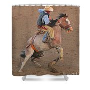 Rough Ride Two Shower Curtain