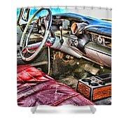 Rough Riding By Diana Sainz Shower Curtain
