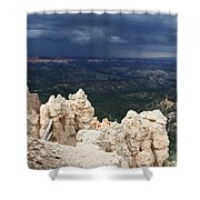 Rough Skys Over Bryce Canyon Shower Curtain