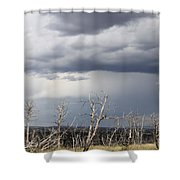 Rough Skys Over Colorado Plateau Shower Curtain