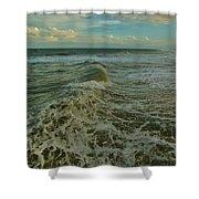 Rough Surf Hatteras 2 10/17 Shower Curtain