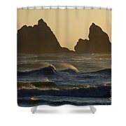 Rough Surf Shower Curtain