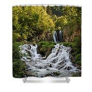 Roughlock Falls South Dakota Shower Curtain