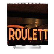 Roulette Shower Curtain