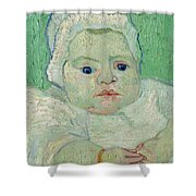 Roulin's Baby Shower Curtain