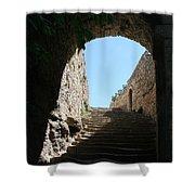 Round Arch Shower Curtain