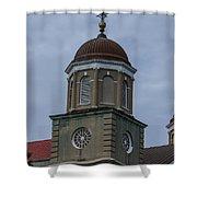 Round Dome Shower Curtain