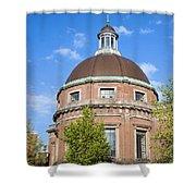 Round Lutheran Church In Amsterdam Shower Curtain